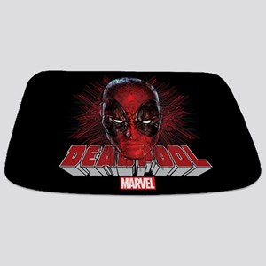 Deadpool Face 2 Bathmat