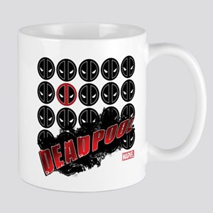 Deadpool Faces Mug