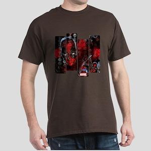 Deadpool Art Panel Dark T-Shirt