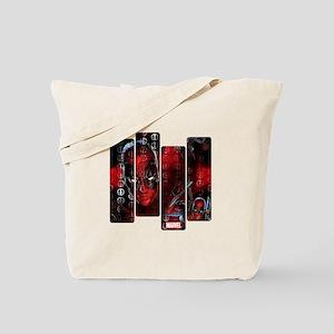 Deadpool Art Panel Tote Bag