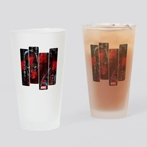 Deadpool Art Panel Drinking Glass