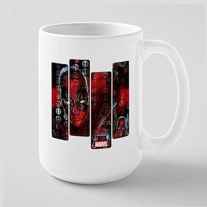 Deadpool Art Panel Large Mug