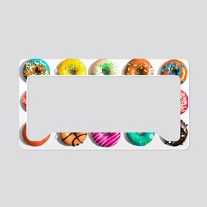 Donuts, Donuts Everywhere License Plate Holder