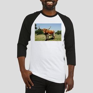 Longhorn Cow Baseball Jersey