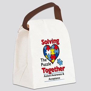 solving Canvas Lunch Bag