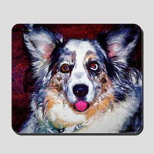 Blue Merle Dog Mousepad