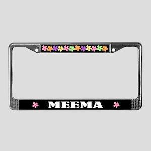 Meema License Plate Frame
