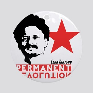 Trotsky Round Ornament