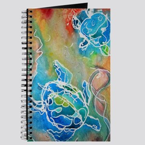 Sea Turtles, wildlife art Journal