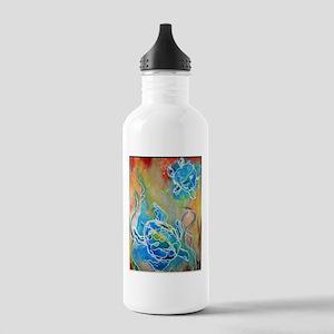 Sea Turtles, wildlife art Water Bottle