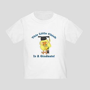 Little Chick Graduate Toddler T-Shirt