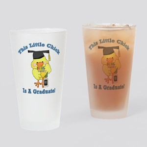 Little Chick Graduate Drinking Glass