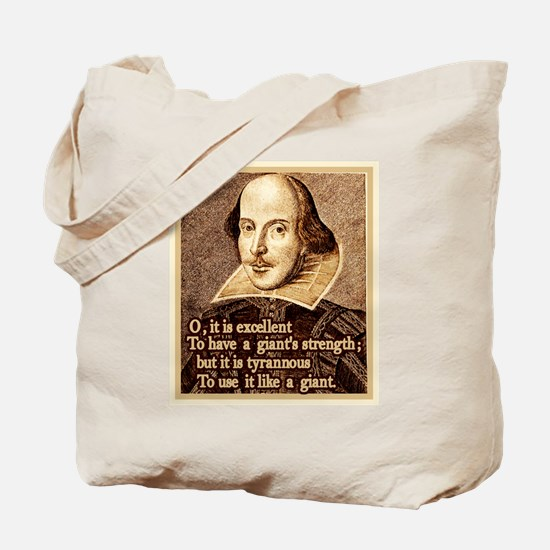 Giant Strength Tote Bag