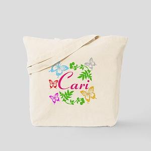 Personalize Name Dancing Butterflies Tote Bag