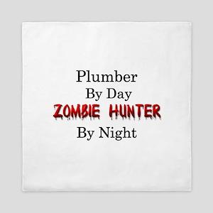 Plumber/Zombie Hunter Queen Duvet