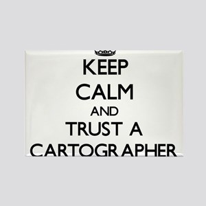 Keep Calm and Trust a Cartographer Magnets