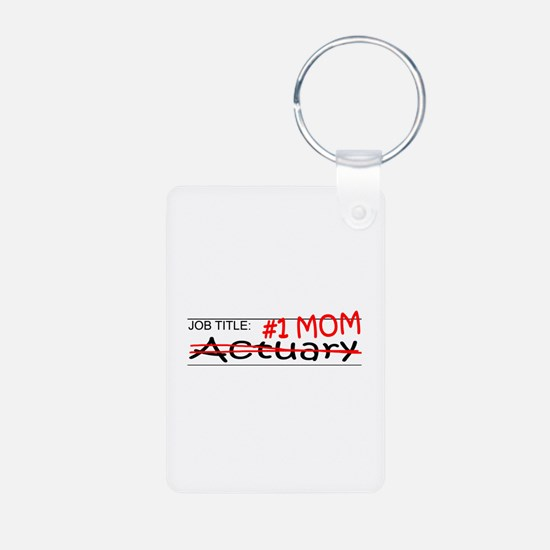 Job Mom Actuary Keychains