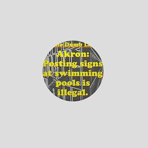 Ohio Dumb Law #6 Mini Button