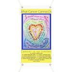 Rainbow Heart Cancer Banner