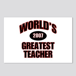 Greatest Teacher 2007 Postcards (Package of 8)