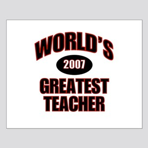 Greatest Teacher 2007 Small Poster