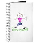 I Love Mommy- Daughter Journal