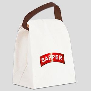 Sapper Tab - Metal Canvas Lunch Bag