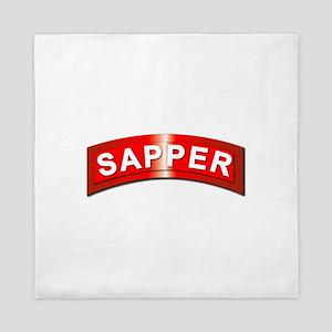 Sapper Tab - Metal Queen Duvet