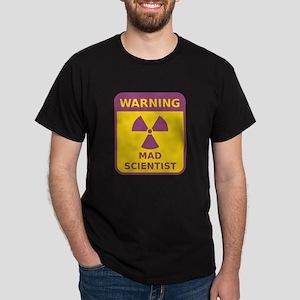 Mad Scientist Warning Sign T-Shirt