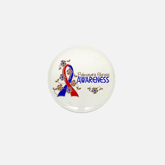 Pulmonary Fibrosis Awareness 6 Mini Button