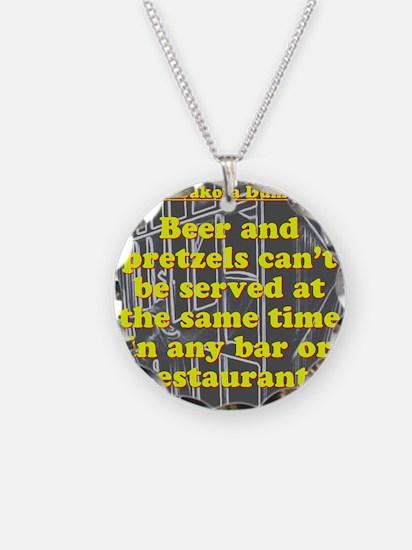 North Dakota Dumb Law #2 Necklace