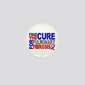 Pulmonary Fibrosis Find the Cure Mini Button