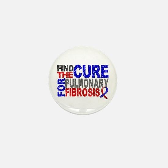Pulmonary Fibrosis Find the Cure Mini Button