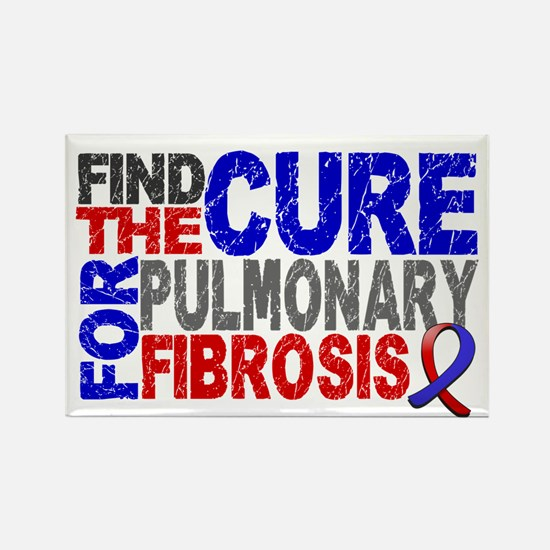 Pulmonary Fibrosis Find the Cure Rectangle Magnet