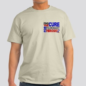 Pulmonary Fibrosis Find the Cure Light T-Shirt