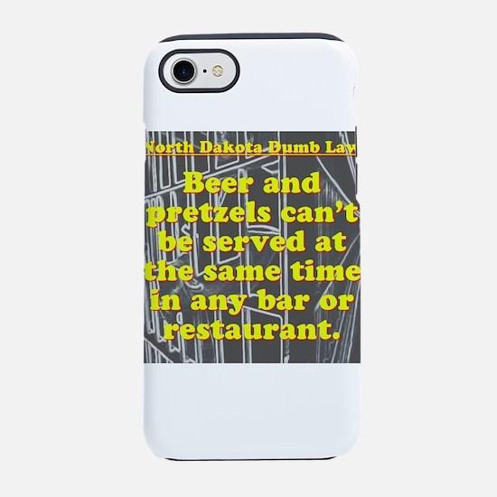 North Dakota Dumb Law #2 iPhone 7 Tough Case