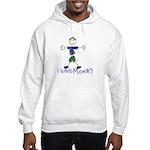 I Love Mommy- Son Hooded Sweatshirt
