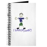 I Love Mommy- Son Journal