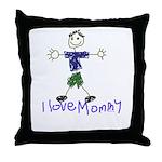 I Love Mommy- Son Throw Pillow
