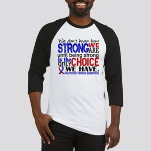 Pulmonary Fibrosis How Strong We A Baseball Jersey
