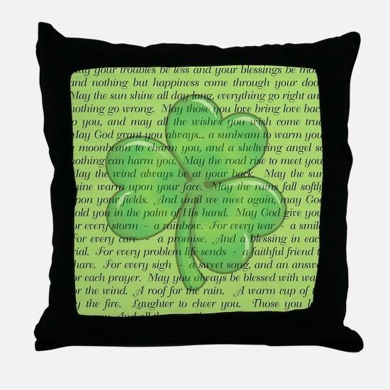IRISH BLESSINGS Throw Pillow