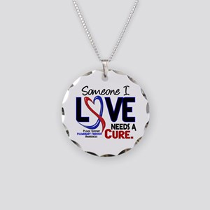 Pulmonary Fibrosis Needs a C Necklace Circle Charm