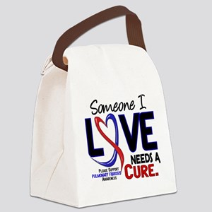 Pulmonary Fibrosis Needs a Cure 2 Canvas Lunch Bag