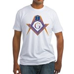 S&C Holding the Star of Life Fitted T-Shirt