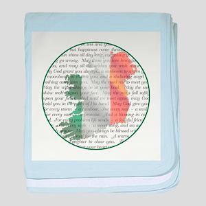IRISH BLESSINGS baby blanket