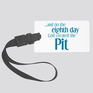 Pit Creation Large Luggage Tag