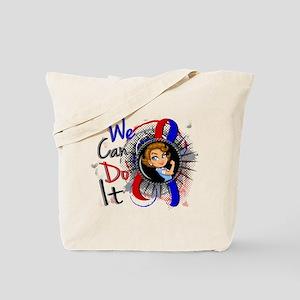 Pulmonary Fibrosis Rosie Cartoon 1 Tote Bag