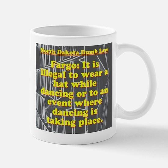 North Dakota Dumb Law #3 Mugs