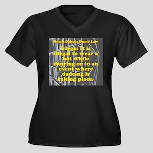 North Dakota Dumb Law #3 Plus Size T-Shirt