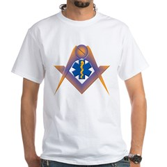 The Masonic Star of Life White T-Shirt